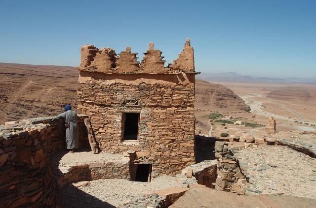 Grenier fortifié du sud Maroc