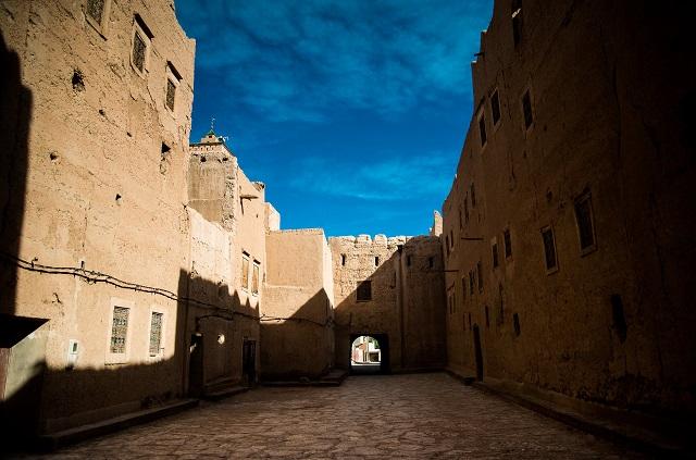 Entrée d'un ksar du sud marocain