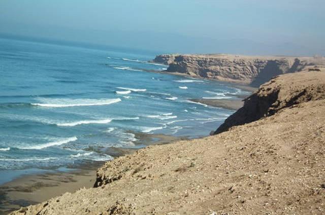 Côte atlantique sud Agadir