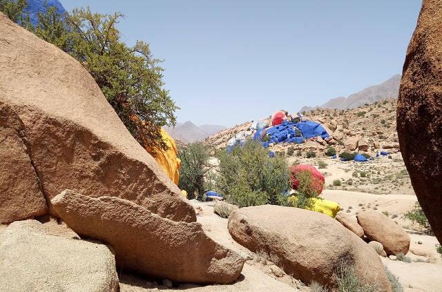 Les rochers peints de Tafraoute