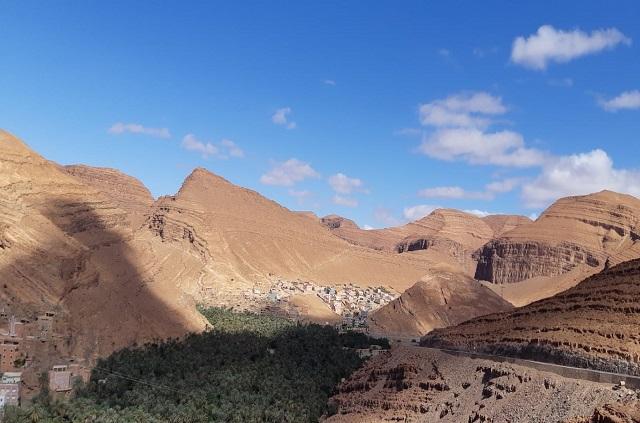 Paysage anti-atlas marocain