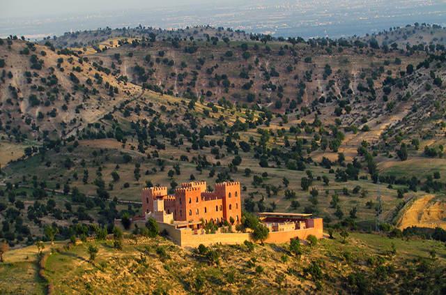 Piscine Atlas kasbah Ecolodge Agadir