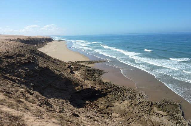 Excursion Massa au départ d'Agadir, plage sauvage
