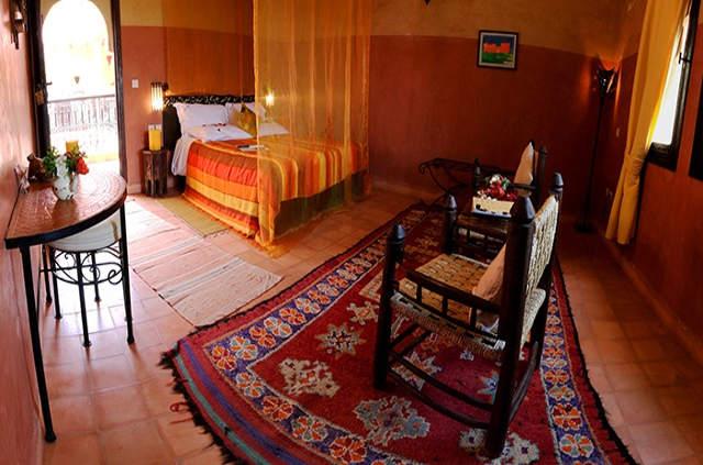 Chambre Atlas kasbah Ecolodge