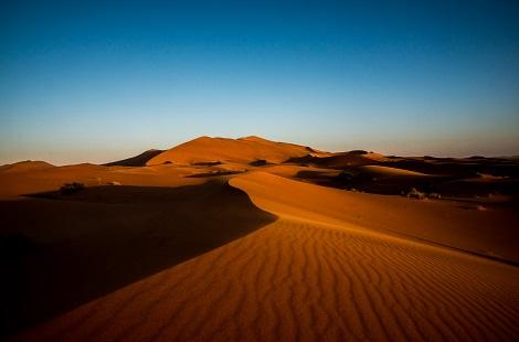 Circuit dans le désert du Maroc