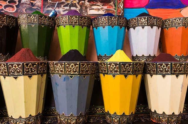 Couleurs à Marrakech