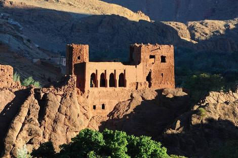 kasbah du sud marocain