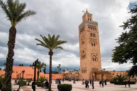 Koutoubia à Marrakech