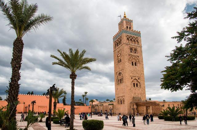 Excursion à Marrakech, la Koutoubia