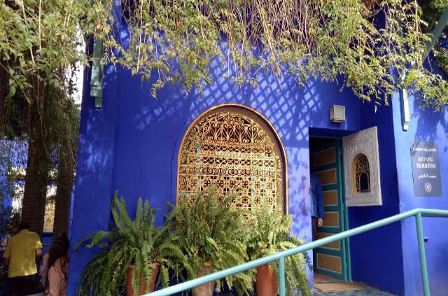 Jarinds de majorelle à Marrakech