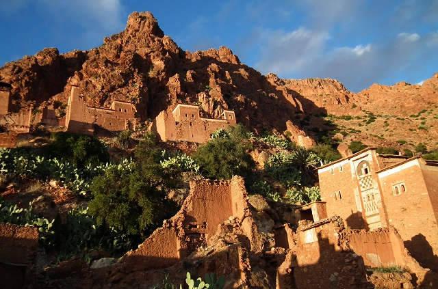 Village Oumesnate près de Tafraoute