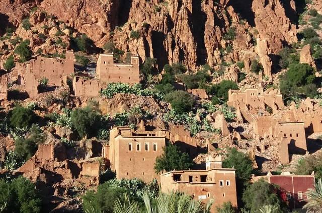 Village berbère de la vallée des Ammeln