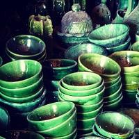 Voyage au Maroc poterie de Tamgroute