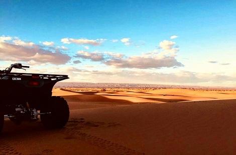 Quad à Chegaga au Maroc