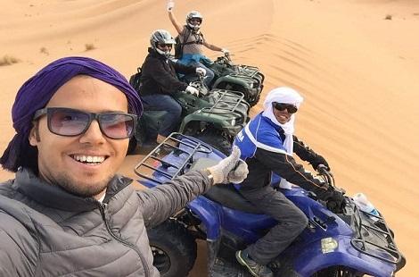 Désert du Maroc en quad