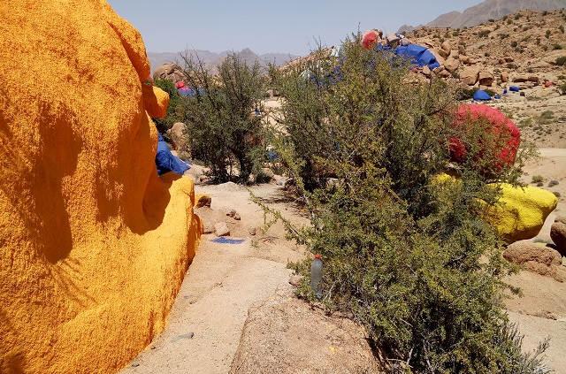 Circuit au Maroc les rochers peints de Tafraoute