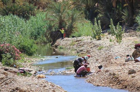 Scène de vie au Maroc