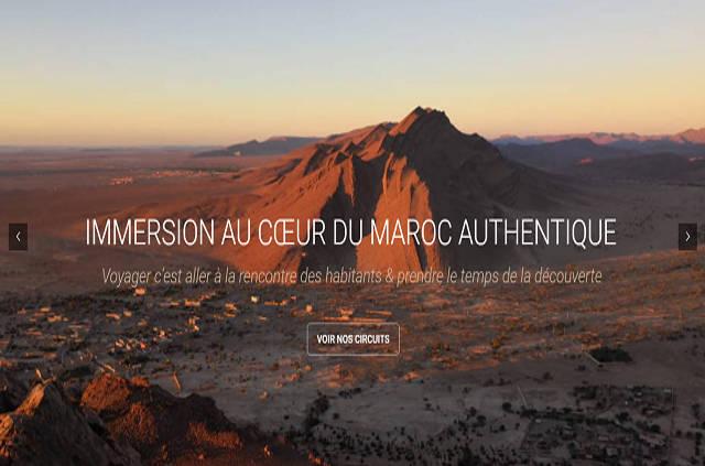 Nouveau site internet Tamazirt Evasion Maroc