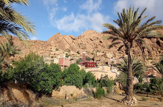 Village près de Tafraoute