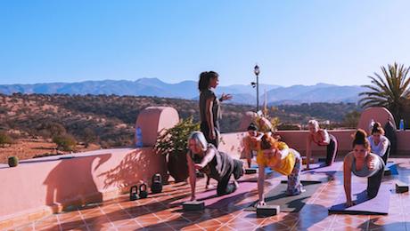 Agadir retraite de Yoga