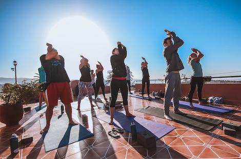 Agadir retraite Yoga