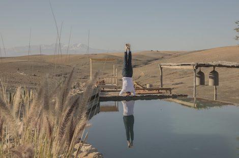 Yoga désert d'Agafay