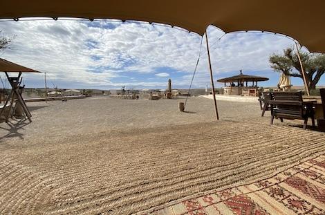 Campement désert d'Agafay