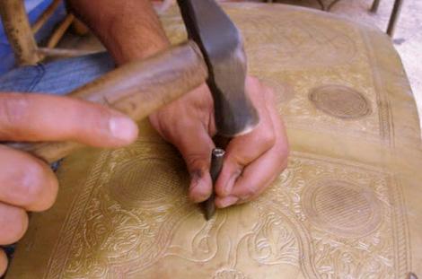 Atelier dinanderie Marrakech